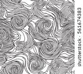 abstract swirl line doodle...   Shutterstock .eps vector #561674383
