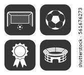 football icons vector set on... | Shutterstock .eps vector #561676273