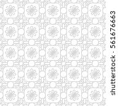 seamless thin paper pattern.... | Shutterstock .eps vector #561676663