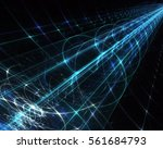 computer generated abstract... | Shutterstock . vector #561684793