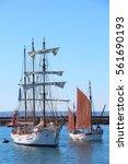 Sailboat Returning To Brest...