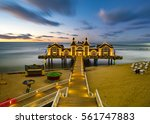 historical  antique wooden pier ...