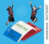 kid student school college...   Shutterstock .eps vector #561752347