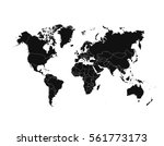 political world map vector... | Shutterstock .eps vector #561773173