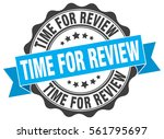 time for review. stamp. sticker....   Shutterstock .eps vector #561795697