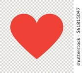 heart icon | Shutterstock .eps vector #561815047