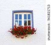 Window With Flowers ...