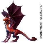 Red Dragon 3d Illustration