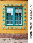 beautiful building facade    Shutterstock . vector #561866377