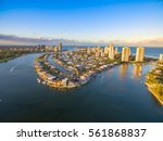 an aerial view of paradise... | Shutterstock . vector #561868837