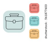 briefcase icon  outline thin...
