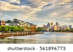 View Of Pyrmont Bay In Sydney ...