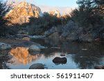 Sunrise In Red Rock Canyon ...