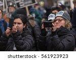 washington  usa. 16 jan  2017.... | Shutterstock . vector #561923923