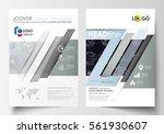 business templates for brochure ...   Shutterstock .eps vector #561930607