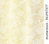 vector golden white abstract... | Shutterstock .eps vector #561957577
