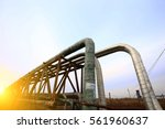oil pipeline | Shutterstock . vector #561960637