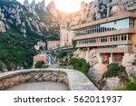 spain. barcelona.  beautiful... | Shutterstock . vector #562011937