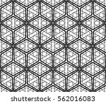 geometric patterns. vector... | Shutterstock .eps vector #562016083