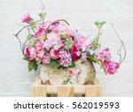 Bouquet Flower In Vase  ...
