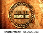 Haunted Mansion  3d Rendering ...