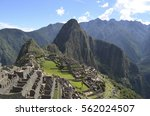 Stone Walls And Steps At Machu...