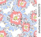 abstract elegance seamless... | Shutterstock .eps vector #562032373