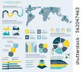 infographics elements...   Shutterstock .eps vector #562047463