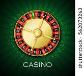 casino roulette chance... | Shutterstock .eps vector #562073263