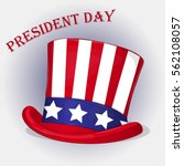 presidents day background with... | Shutterstock .eps vector #562108057