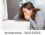asian woman have a morning... | Shutterstock . vector #562113313