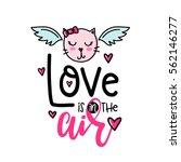 vector hand drawn lettering...   Shutterstock .eps vector #562146277
