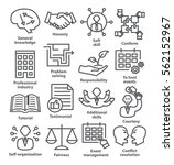 Business Management Icons In...