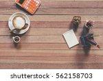 office stuff and it gadgets...   Shutterstock . vector #562158703