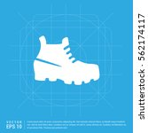 trekking boot icon | Shutterstock .eps vector #562174117