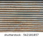 Old Iron Wall Background Texture