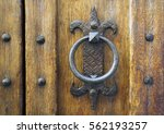 details of an ancient italian... | Shutterstock . vector #562193257