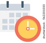 appointment vector icon | Shutterstock .eps vector #562201033