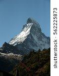european countryside rural town ... | Shutterstock . vector #562225873