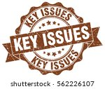 key issues. stamp. sticker.... | Shutterstock .eps vector #562226107