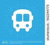 school bus icon | Shutterstock .eps vector #562244773