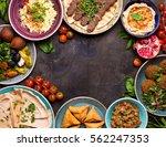 Middle Eastern Or Arabic Dishe...