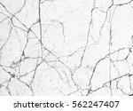 cracked cement wall texture... | Shutterstock . vector #562247407