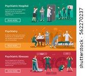 psychiatric illnesses...   Shutterstock .eps vector #562270237