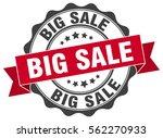 big sale. stamp. sticker. seal. ... | Shutterstock .eps vector #562270933
