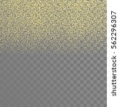 gold sparkles on the...   Shutterstock .eps vector #562296307