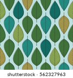 vector seamless background with ... | Shutterstock .eps vector #562327963
