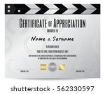 certificate of appreciation...   Shutterstock .eps vector #562330597