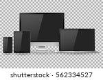 vector illustration modern... | Shutterstock .eps vector #562334527