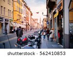 parma  italy   april 22  2016 ... | Shutterstock . vector #562410853